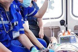 Cụ bà 80 tuổi ngưng tim, ngưng thở vì ăn bún bị sặc