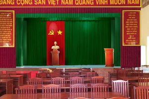 Bình Định: Nhiều cán bộ đi họp nửa buổi bỏ về