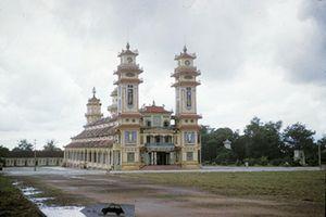 Tây Ninh năm 1958 cực sinh động qua ống kính người Mỹ