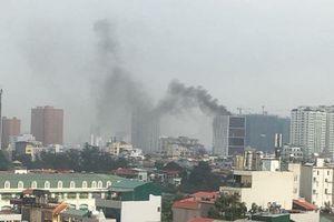 Hà Nội: Cháy Trụ sở Trung tâm lưu ký chứng khoán VN
