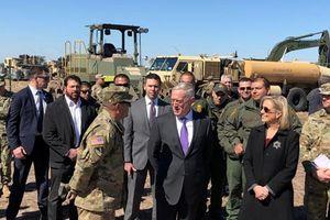 Bộ trưởng Mattis thăm 'nơi ở' lính Mỹ gần biên giới với Mexico