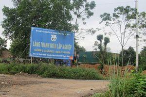 Làng Thanh niên lập nghiệp Sông Chàng đằng đẵng 10 năm chờ sổ đỏ