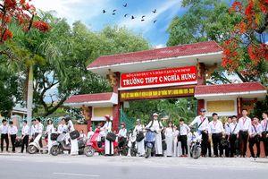 Trường THPT C Nghĩa Hưng Tự hào mái trường nơi đầu sóng