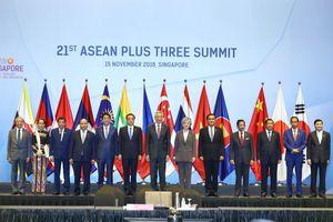 Thủ tướng Nguyễn Xuân Phúc tham dự Hội nghị Cấp cao ASEAN + 3 lần thứ 21