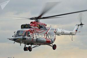 Mi-171A2 chopper bắt đầu tour giới thiệu ở Đông Nam Á