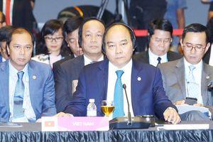 Biển Đông trên bàn Hội nghị cấp cao ASEAN và đối tác