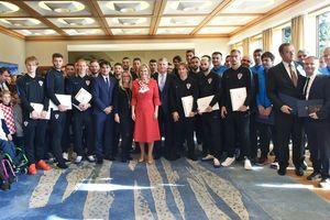 Tuyển Croatia được tặng huân chương cho thành tích lịch sử tại World Cup 2018