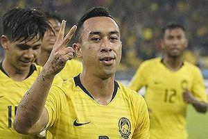 'Sát thủ' Malaysia đánh giá cao hàng thủ tuyển Việt Nam