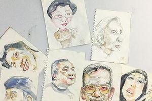 Những bức ký họa chân dung độc nhất vô nhị