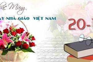 Những lời chúc thầy cô tốt đẹp nhất nhân ngày Nhà giáo Việt Nam