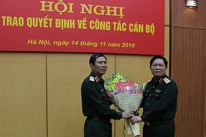 Trung tướng Nguyễn Tân Cương giữ chức Phó Tổng Tham mưu trưởng QĐND Việt Nam