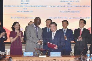 Ngân hàng Thế giới hỗ trợ TP.HCM phát triển giao thông đô thị