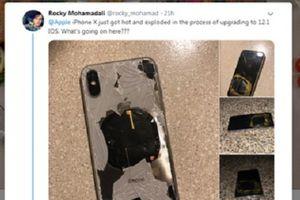 Iphone X đột nhiên phát nổ
