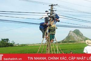Sửa điện cho thôn, người đàn ông bị điện giật tử vong