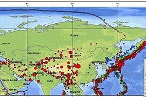 Động đất mạnh 6,5 độ gần bán đảo Kamchatka thuộc Viễn Đông Nga