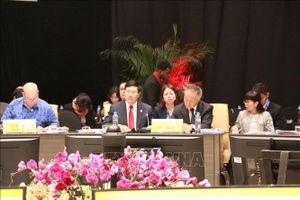 APEC tiếp tục đạt nhiều bước tiến về liên kết kinh tế, kết nối khu vực