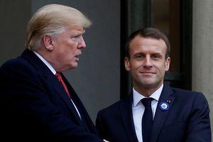 Pháp chỉ trích ông Trump hành xử thiếu lịch sự