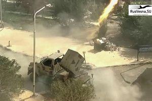 Syria sử dụng pháo phản lực Golan-1000 tiêu diệt IS