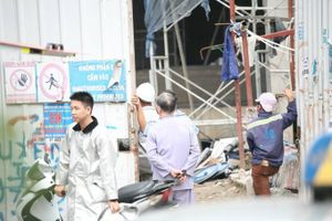 Cháy tại Trung tâm lưu ký chứng khoán Việt Nam, công nhân hoảng hốt tháo chạy