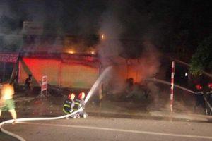 Cháy ki ốt bán đồ điện nước, một người tử vong thương tâm