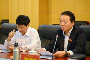 Bộ TN&MT cùng Ninh Thuận tháo gỡ một số vướng mắc trên địa bàn tỉnh