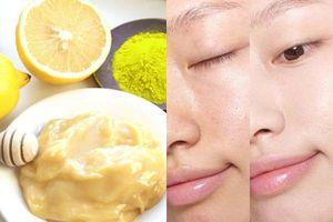 Cách làm mặt nạ bằng bột nghệ để se khít lỗ chân lông, giảm tiết dầu nhờn giúp da mịn màng, căng mướt sau 10 ngày