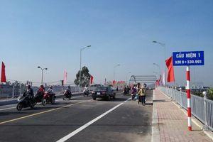 Hải Phòng phân luồng giao thông qua Cầu Niệm