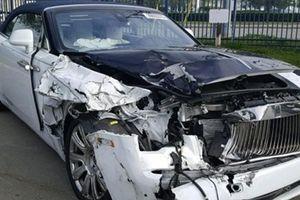 Siêu xe gặp nạn nát bét đầu vẫn có giá… hơn 2 tỷ