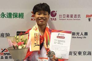 Võ sĩ taekwondo Hà Nội giành Huy chương bạc thế giới
