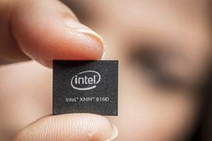 'Nghênh mặt' với Qualcomm, Intel ra mắt chip 5G