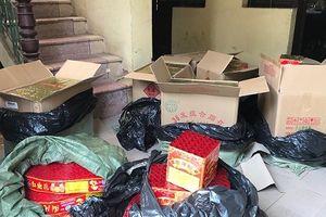 Bắt quả tang vụ vận chuyển hơn 200kg pháo từ Lạng Sơn về Hà Nội