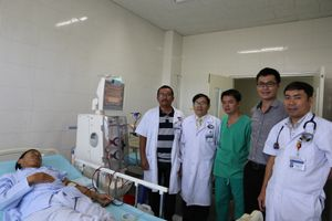 Quảng Nam: Sử dụng máy 'siêu lọc máu' cho người suy thận