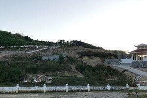 Xin làm nghĩa trang để phá rừng, móc than