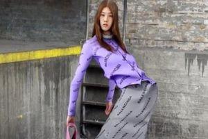 Balenciaga gây sợ hãi với hình ảnh người mẫu vặn vẹo kỳ dị