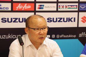 HLV Park Hang seo: 'Tôi hài lòng với cách đội tuyển chơi và giành chiến thắng'