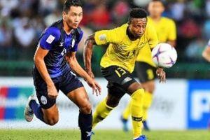 ĐT Malaysia mất 'quái vật gốc Phi' khi đấu ĐT Việt Nam