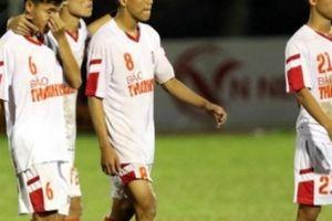 Thành cựu vương giải U21, HLV U21 HAGL 'đổ lỗi' cho trọng tài