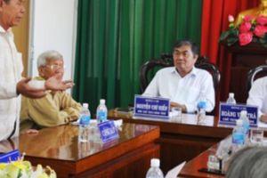 Tân Chủ tịch Phú Yên nói gì về ý kiến tiếp dân 0%?
