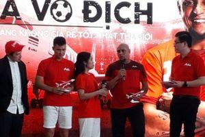 Roberto Carlos tin bóng đá Việt Nam tiến xa sát giờ Việt Nam vs Malaysia