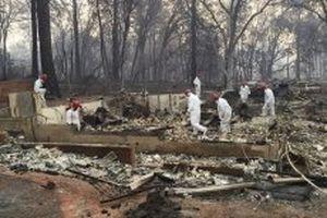 63 người chết, hàng trăm người mất tích do cháy rừng tại Bắc California