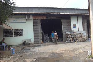 Cháy xưởng cơ khí, 2 người bị bỏng