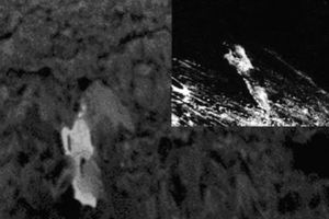 Vật thể trắng kỳ quái xuất hiện trên tiểu hành tinh Ryugu