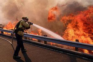 Số người chết vì cháy rừng ở California tăng vọt