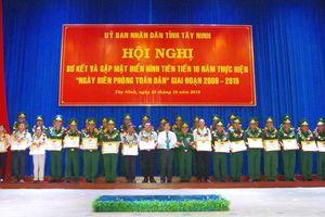 Thế trận biên phòng toàn dân trên biên giới Tây Ninh