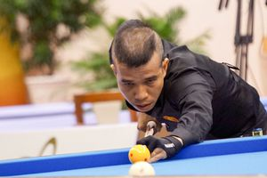 Các cơ thủ billiards 3 băng Việt Nam gặp khó tại giải World Cup Seoul