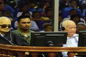 Hôm nay tuyên án thủ lĩnh Khmer Đỏ Nuon Chea, Khieu Samphan về tội diệt chủng