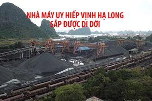 Nhà máy tuyển than uy hiếp vịnh Hạ Long sắp được di dời