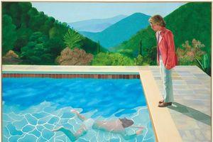 Tranh của danh họa David Hockney bán giá 2.100 tỉ đồng