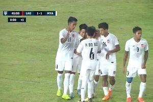 Lào 1-3 Myanmar: Không có bất ngờ cho đội chủ nhà