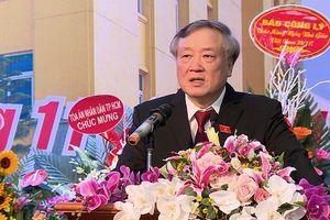 Học viện Tòa án mít tinh chào mừng 36 năm ngày Nhà giáo Việt Nam